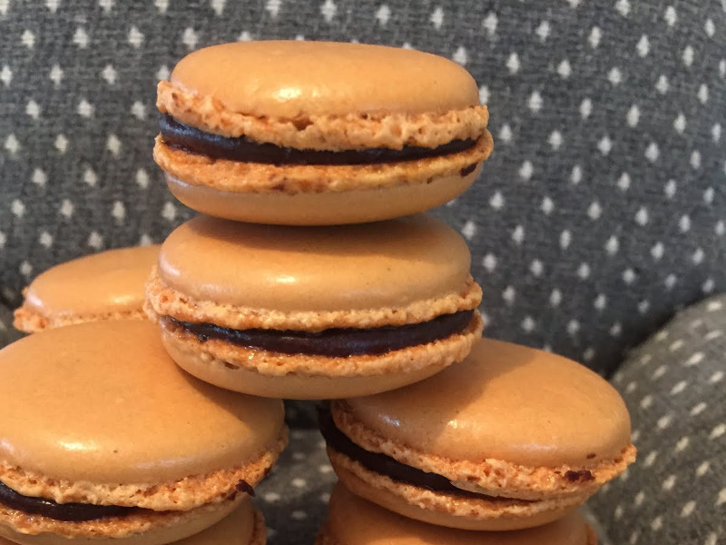 Csokoládés macaron recept