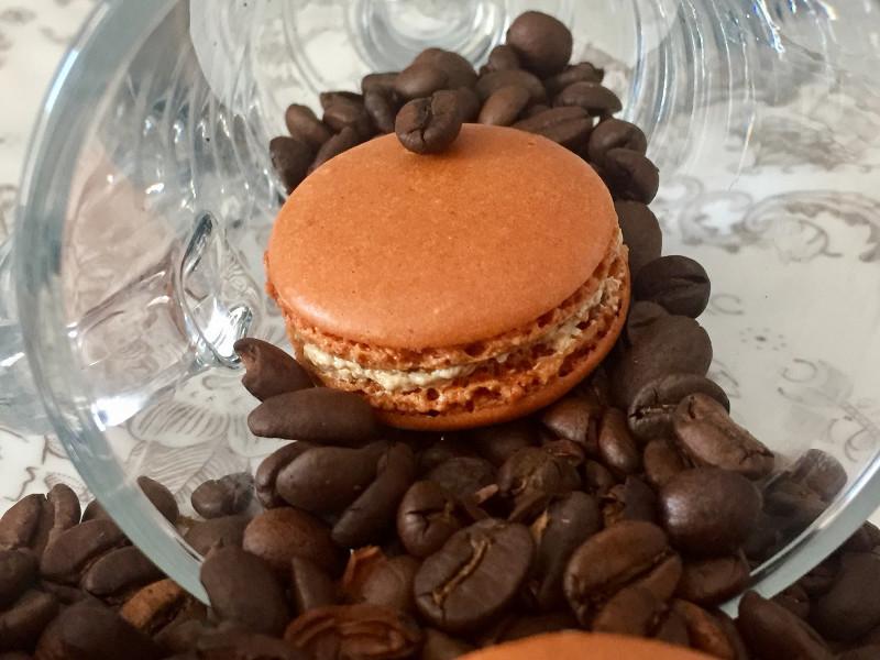 Kávés macaron recept