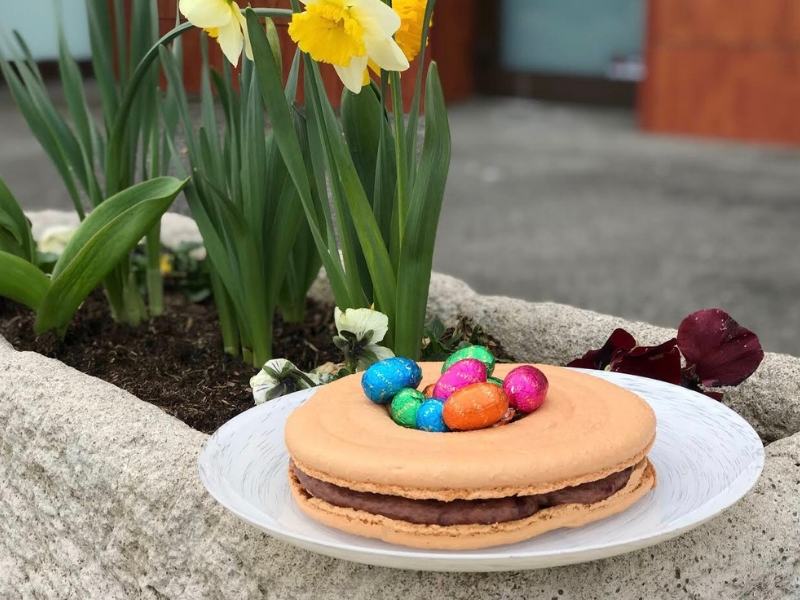 Húsvéti macaron torta recept