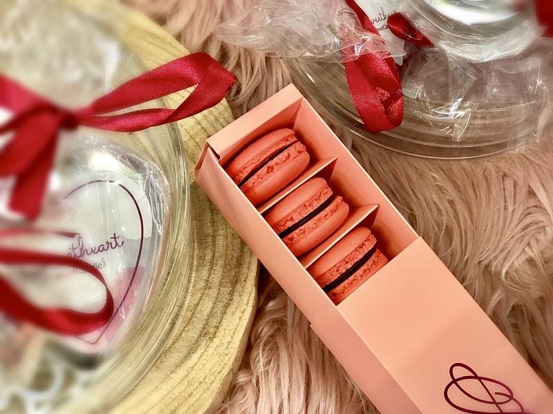 Valentin-napi macaron recept